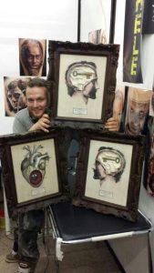 triple awards - Michele Agostini Tattoo Artist Roma - Rome Italy