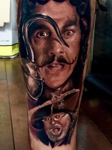 Hook - Realistic Tattoo - Tatuaggi Realistici - Michele Agostini - Rome (Italy)