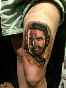 The Walking Dead - Realistic Tattoo - Tatuaggi Realistici - Michele Agostini - Rome (Italy)