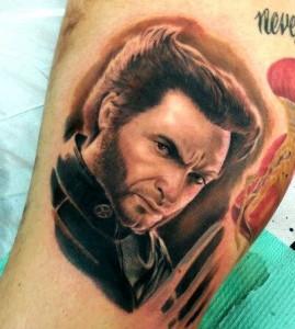 Wolverine - XMEN - Realistic Tattoo - Tatuaggi Realistici - Michele Agostini - Rome (Italy)